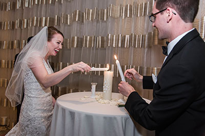 Joanna + Glenn Candle Ceremony - JadeNikkolePhotography
